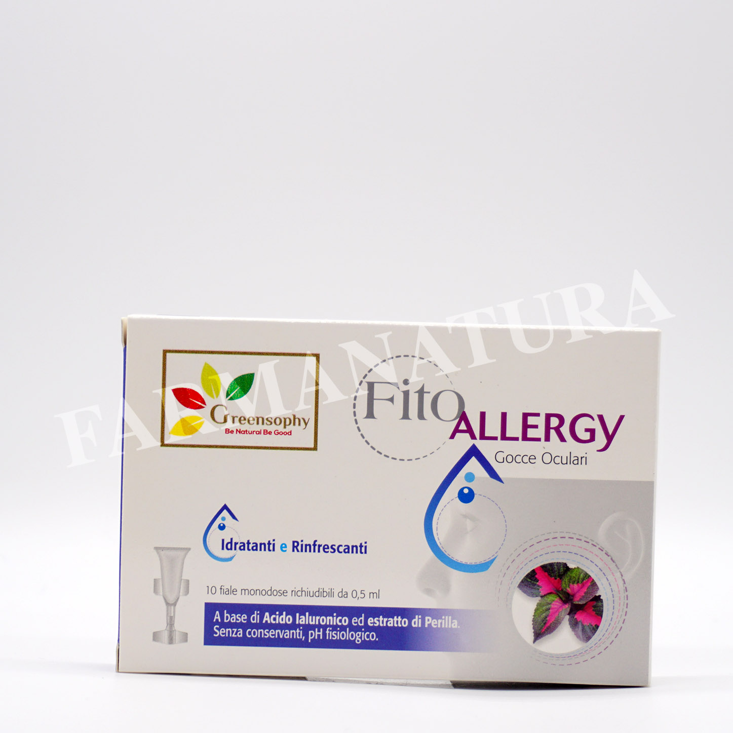 Greensophy Fitoallergy Gocce Oculari 10X0.5Ml