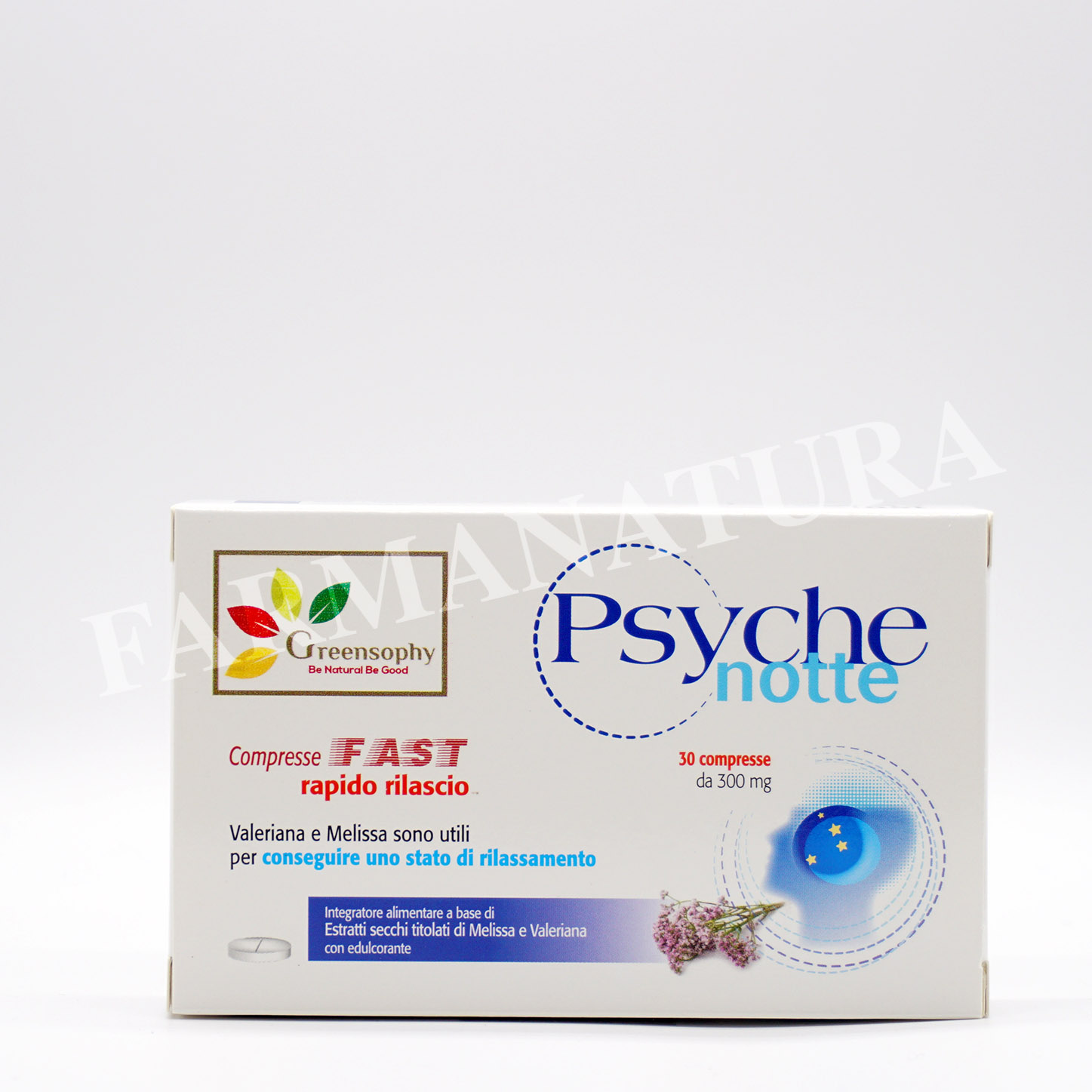 Greensophy Psyche Notte 30 Cprs 300Mg