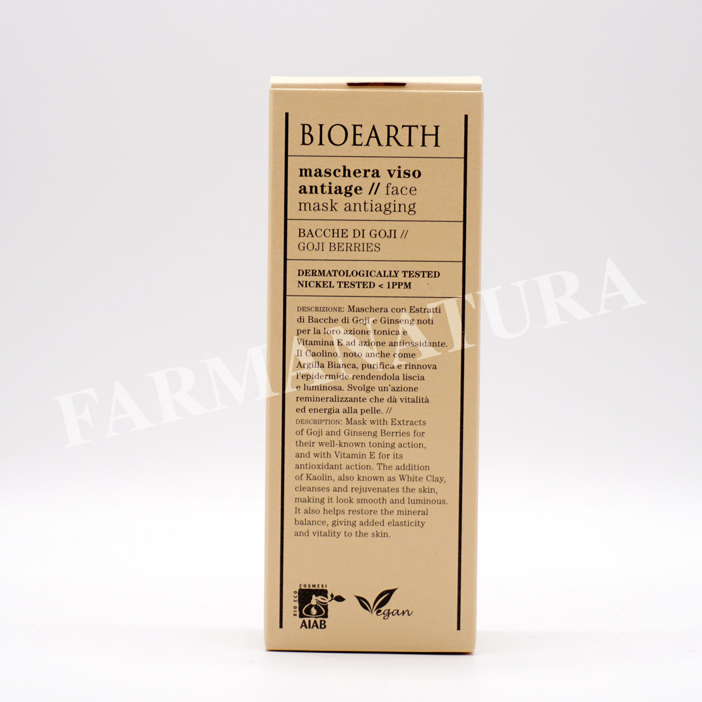 Bioearth Maschera Antiage 100 Ml