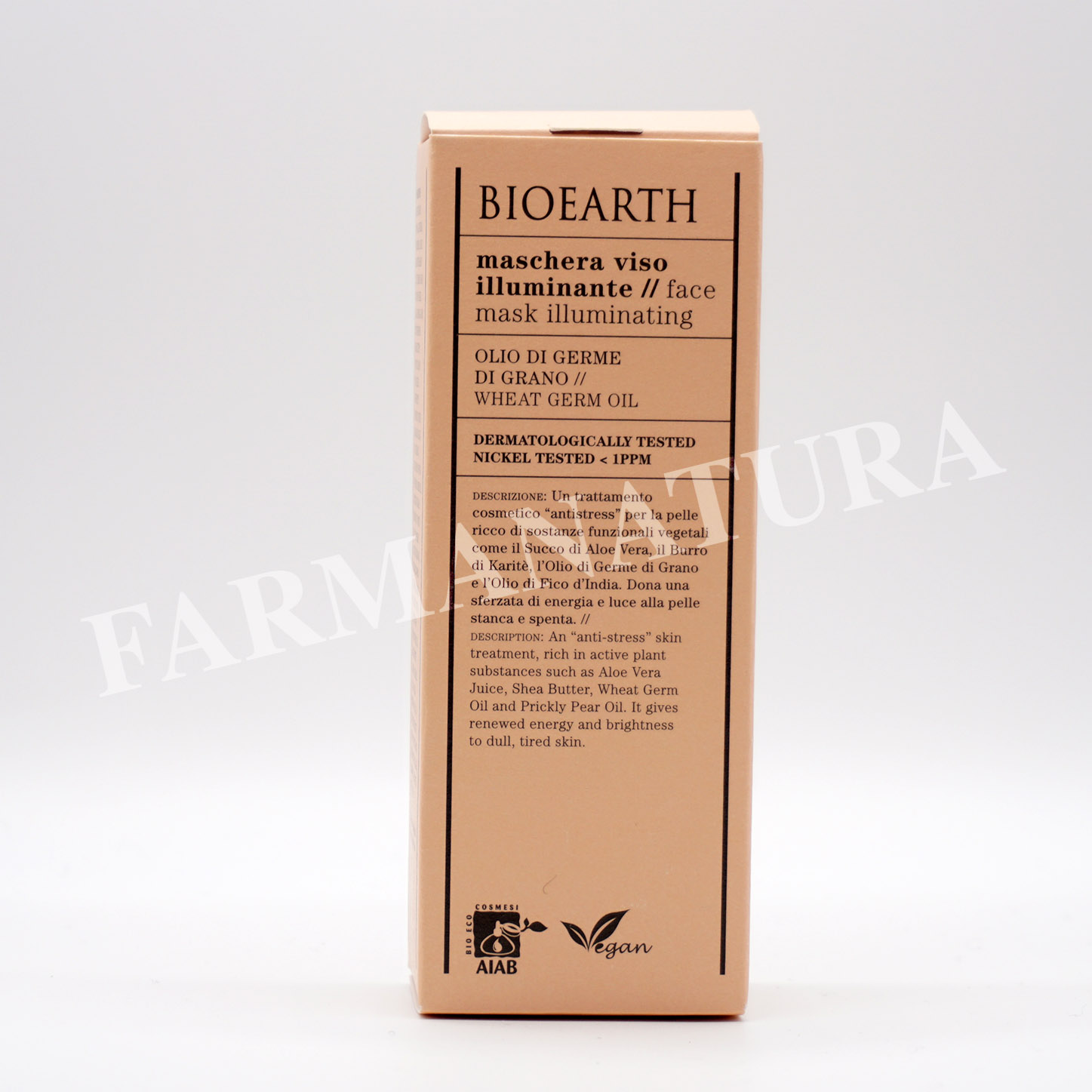 Bioearth Maschera Illuminante 100 Ml