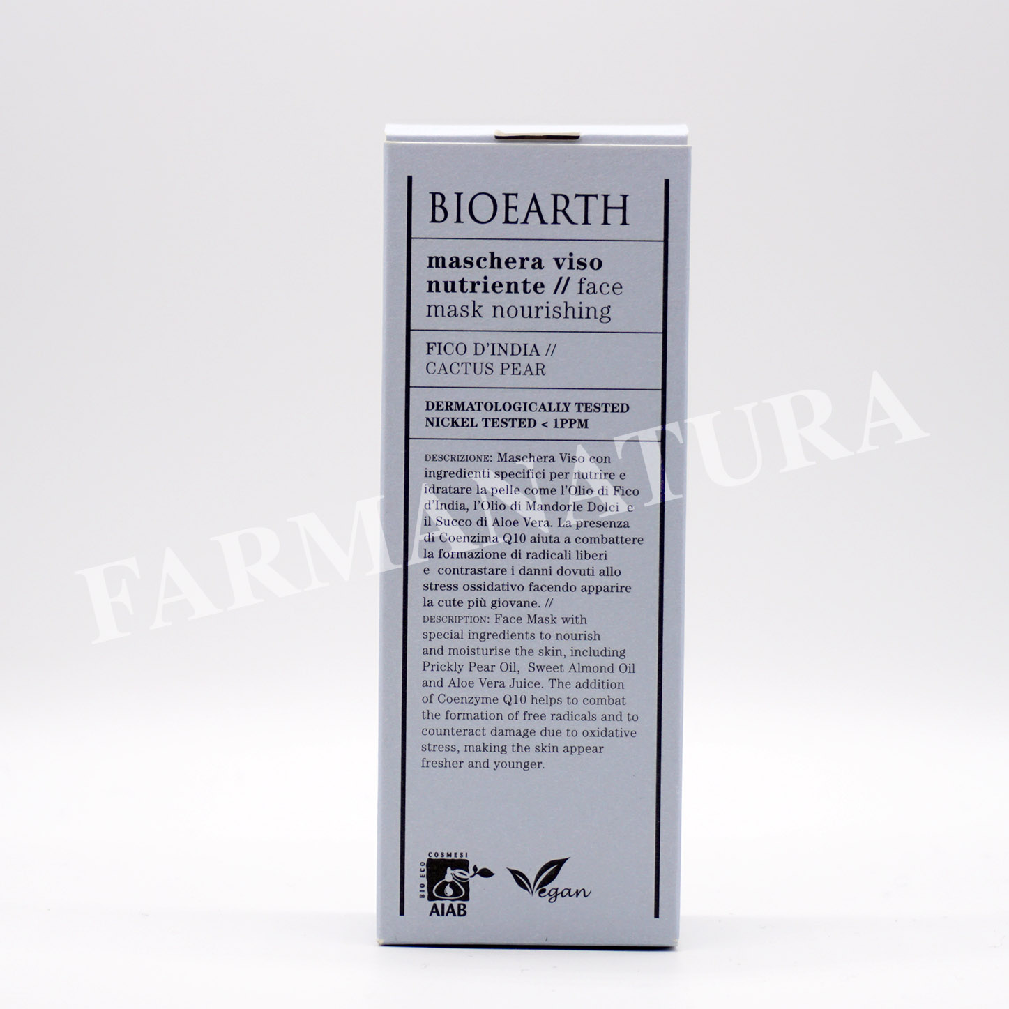 Bioearth Maschera Nutriente 100 Ml