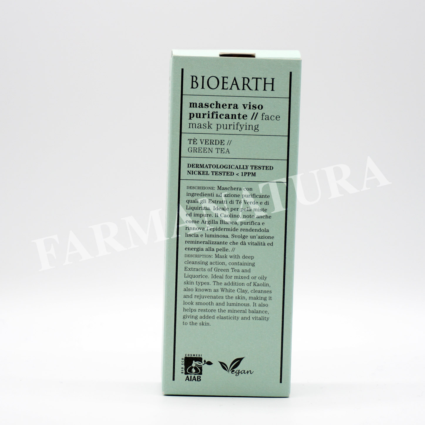 Bioearth Maschera Purificante 100 Ml