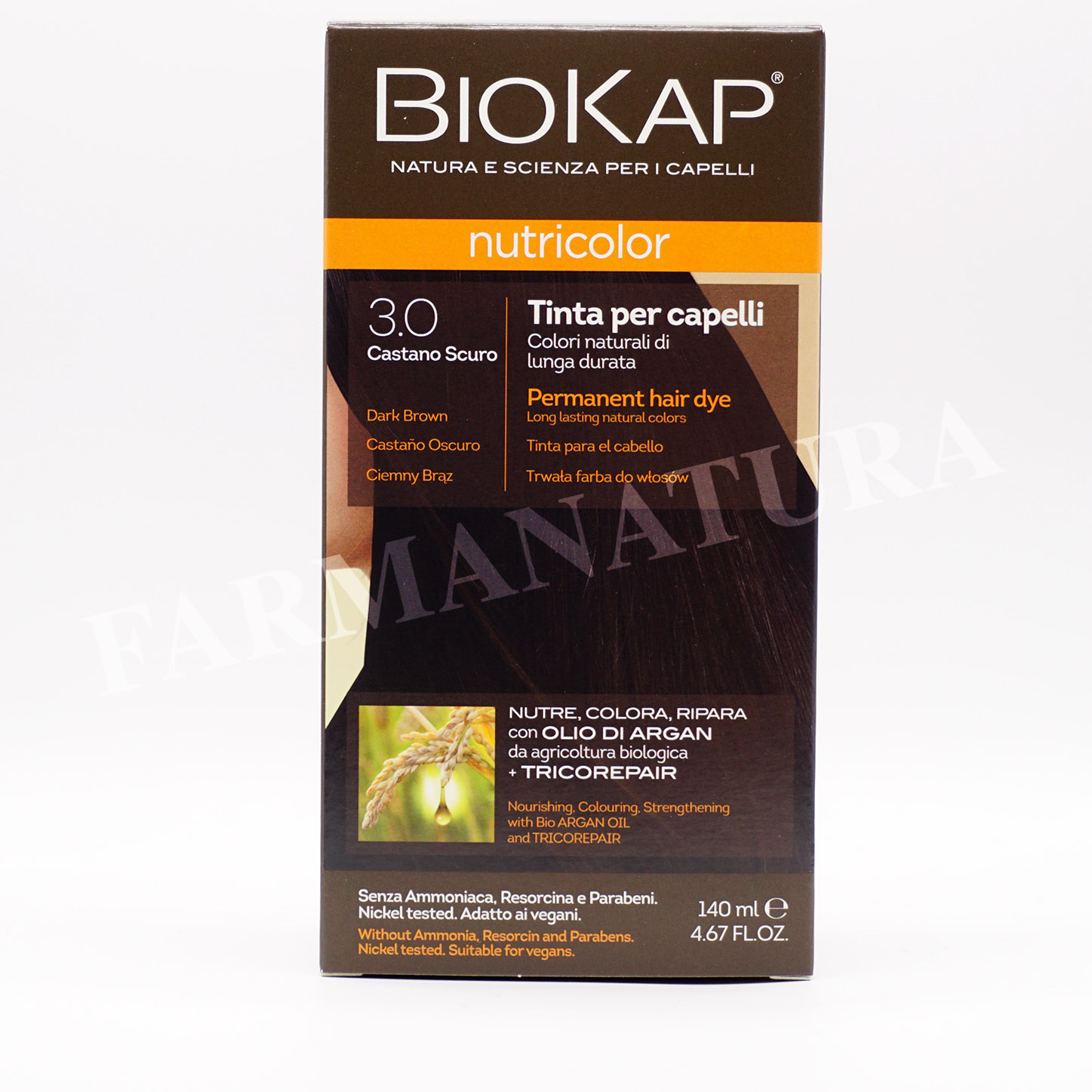 Nutricolor 3.0 Castano Scuro 140 Ml Biokap