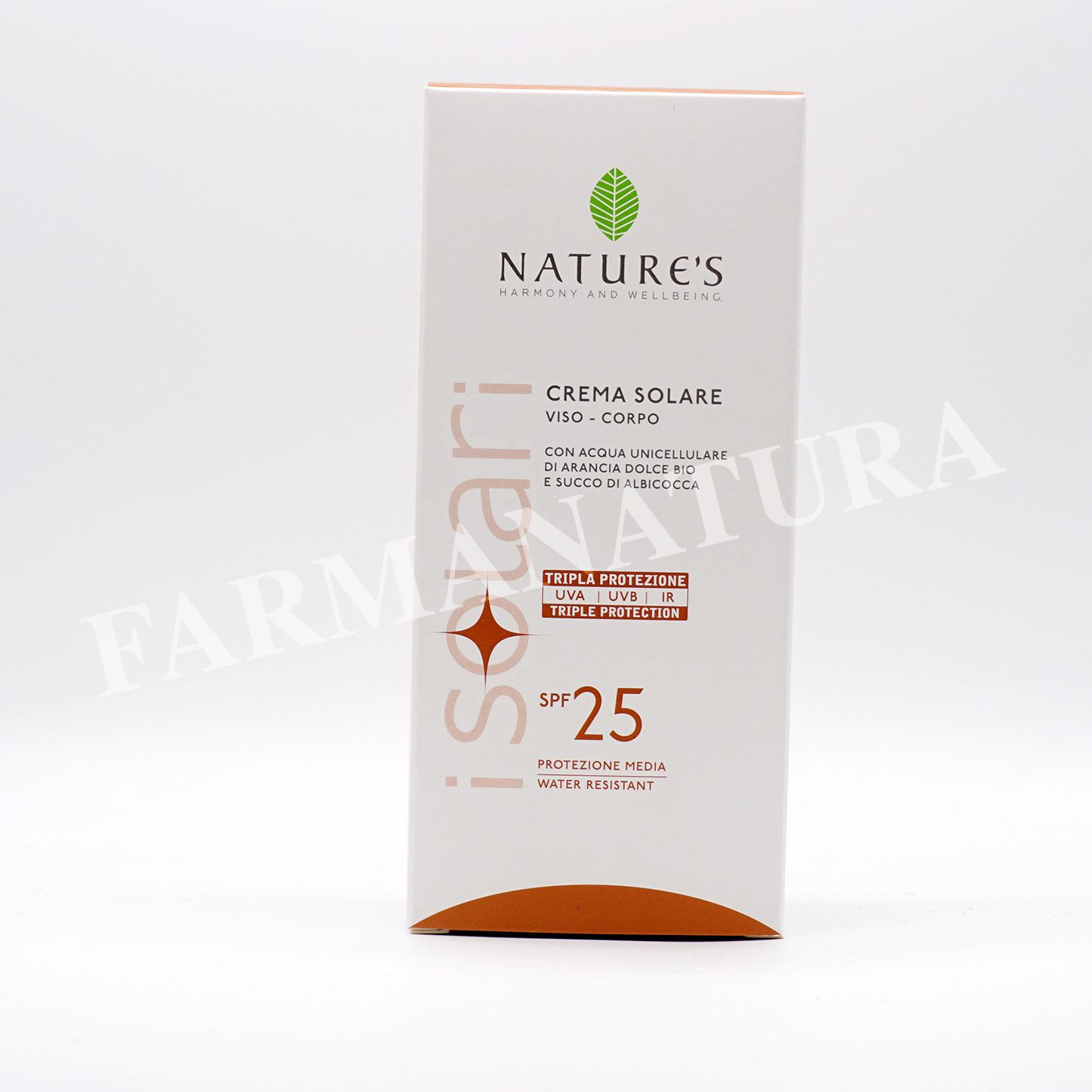 Spf25 Crema Solare 150 Ml Nature'S