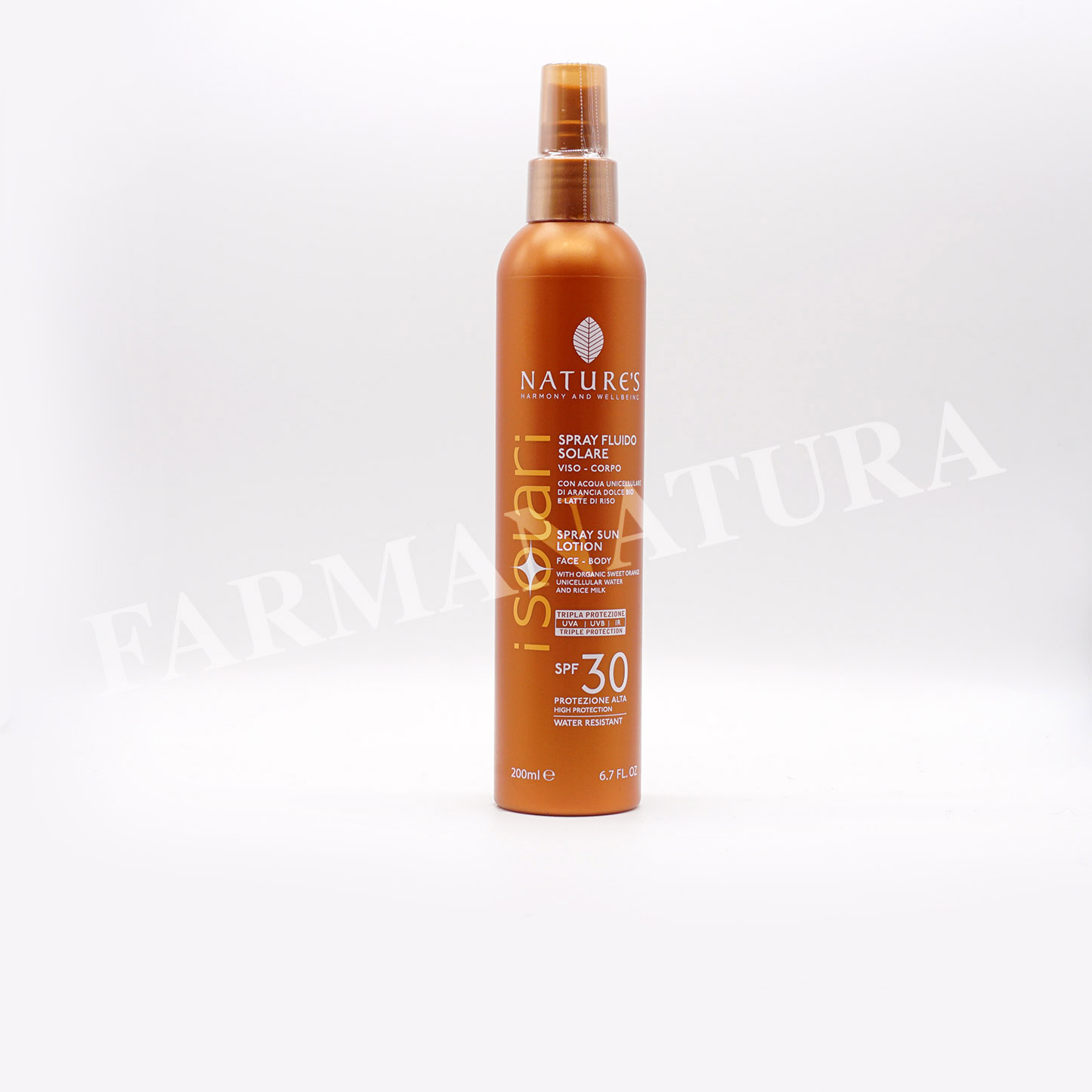 Spf30 Spray Fluido 200 Ml Nature'S