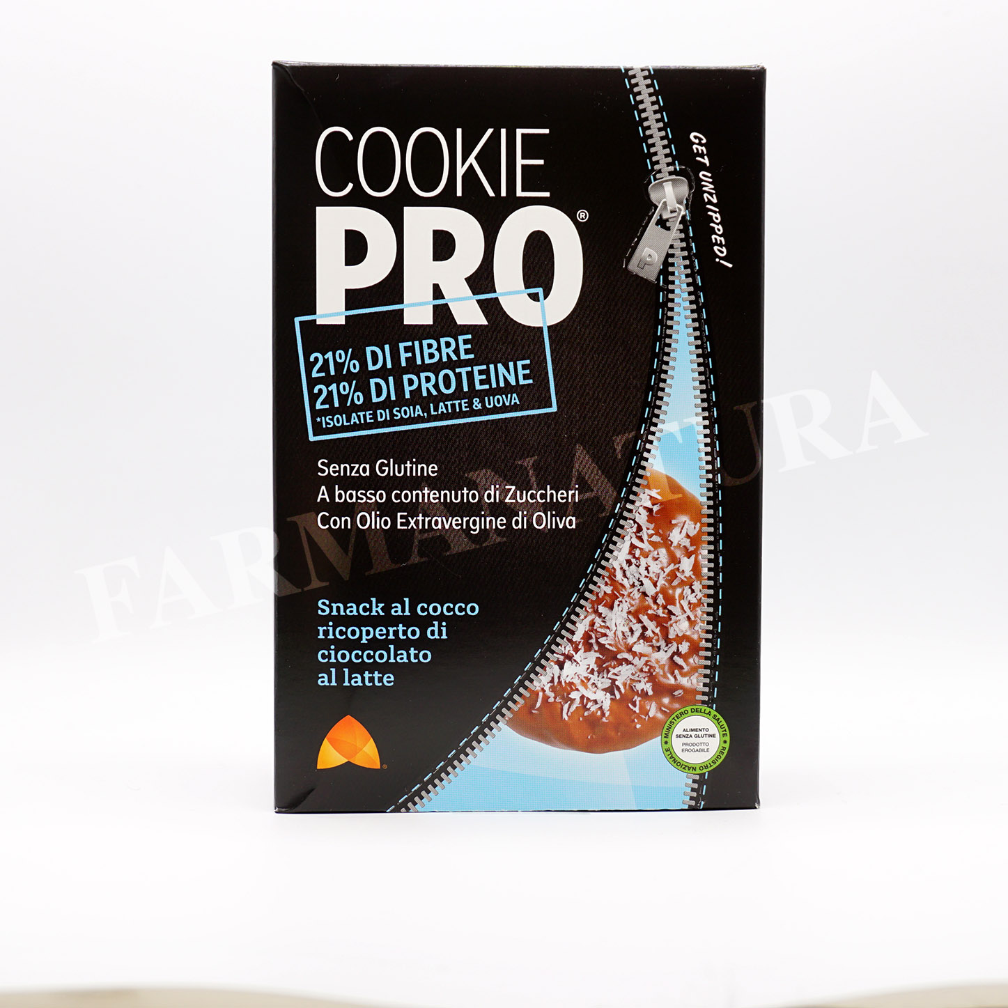 Box Cookie Pro Cocco *No-Glut* 11 Snack Alevo