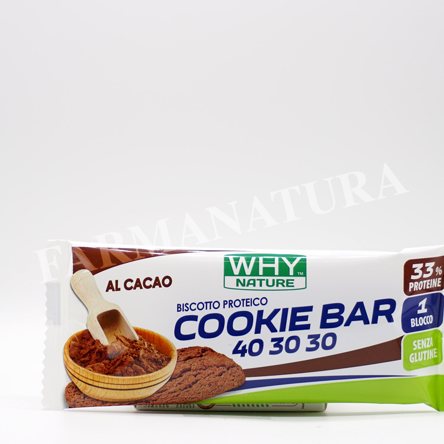 Why Cookie Bar Proteici 21Gr Cacao