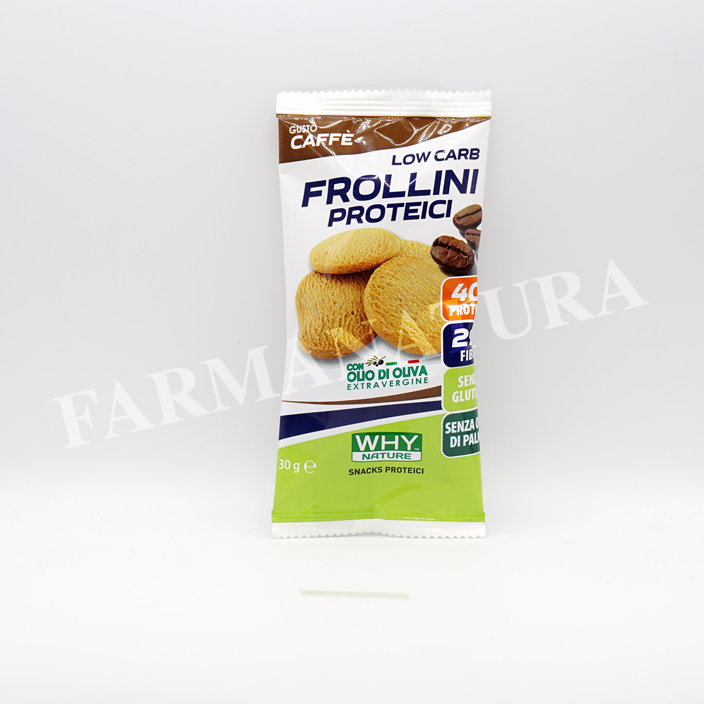 Why Frollini Proteici Caffe' 30 Gr