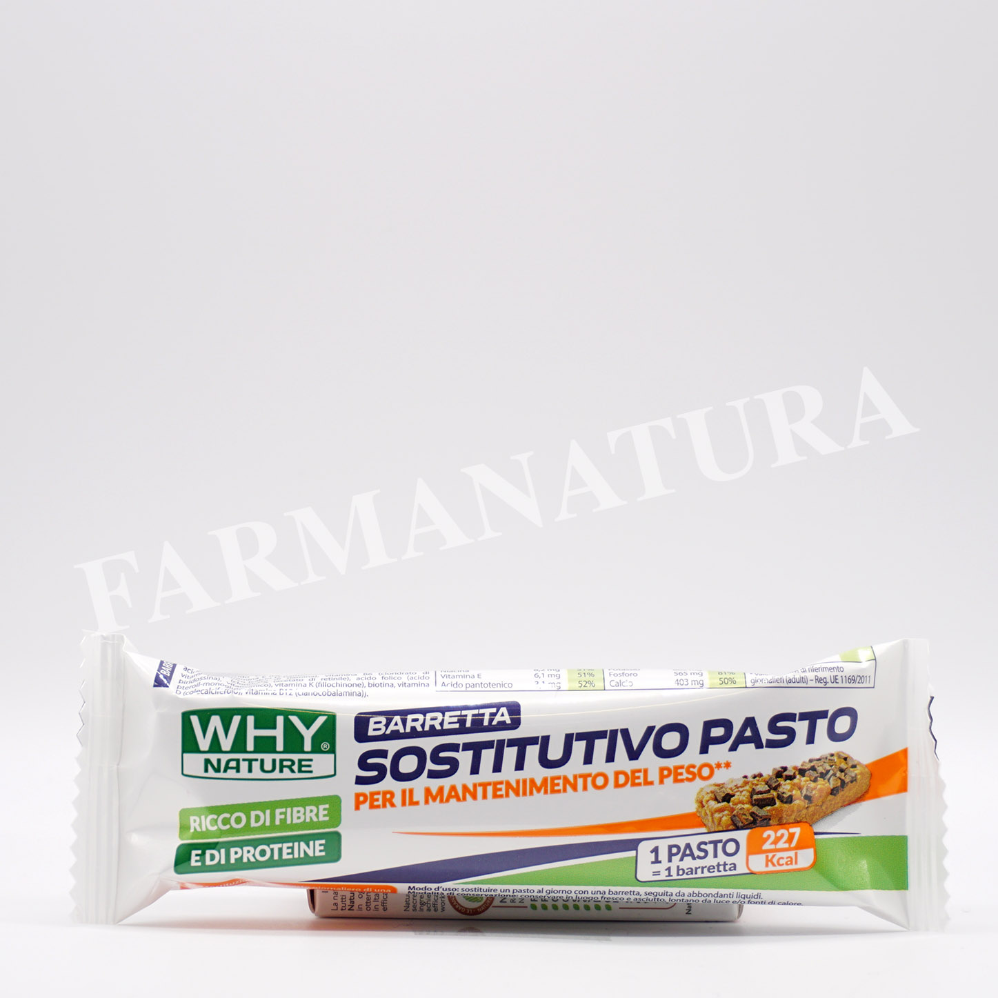 Whynature Bar Sostitutiva Pasto Cookies 60 Gr