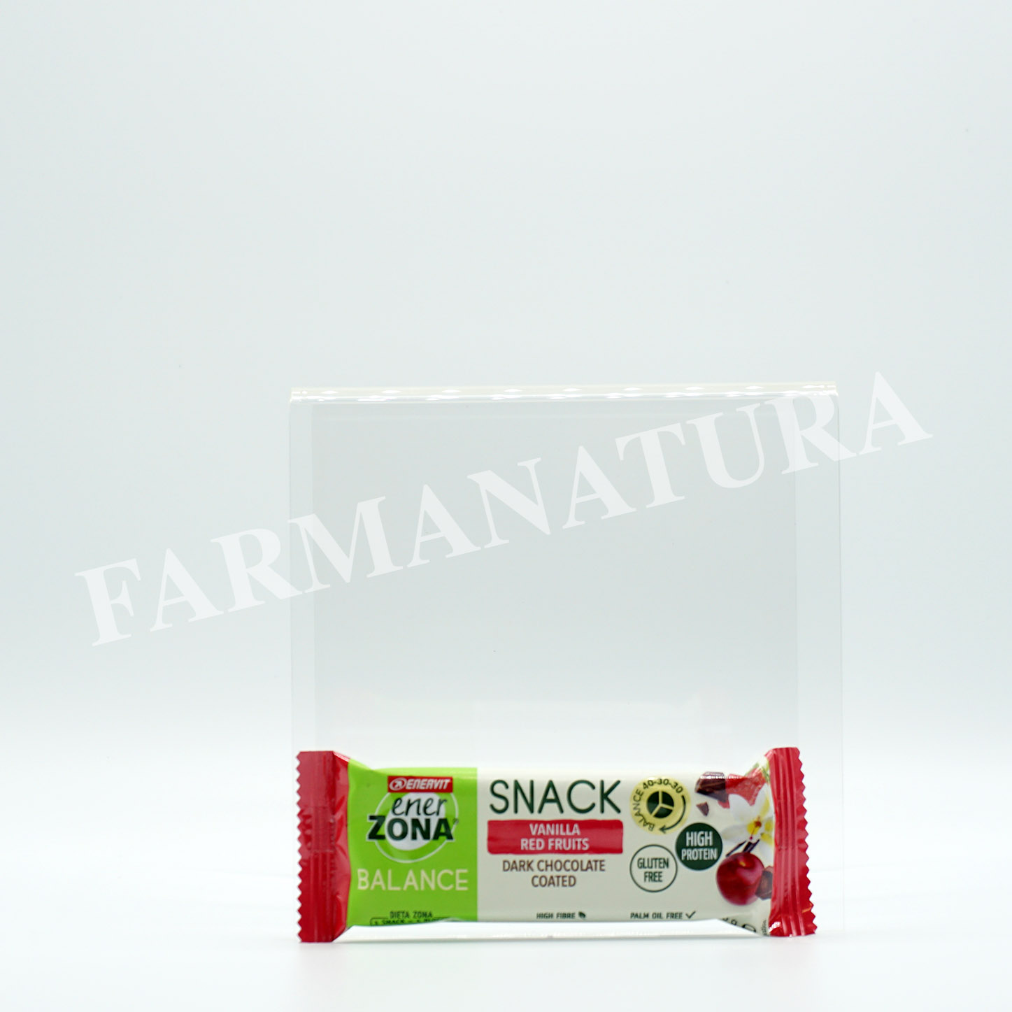 Enerzona Balance Snack 40-30-30 Vanilla Red Fruit