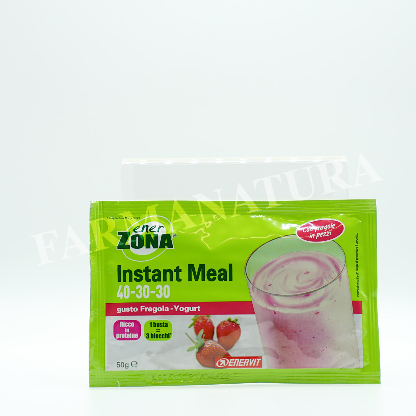 Enerzona Instant Meal 40-30-30 Fragola/Yogurt 50Gr