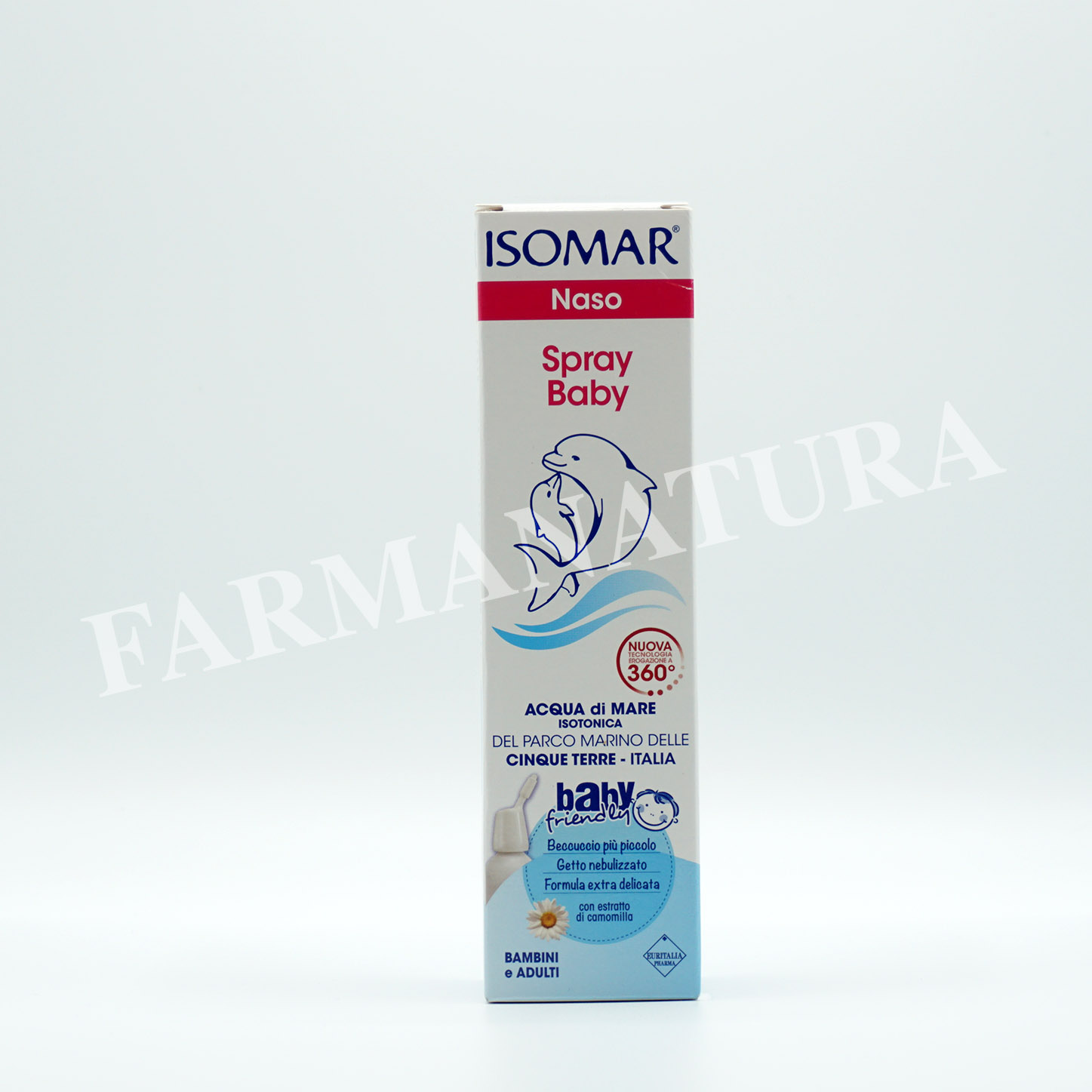Isomar Naso Spray Baby Con Camomilla 100Ml