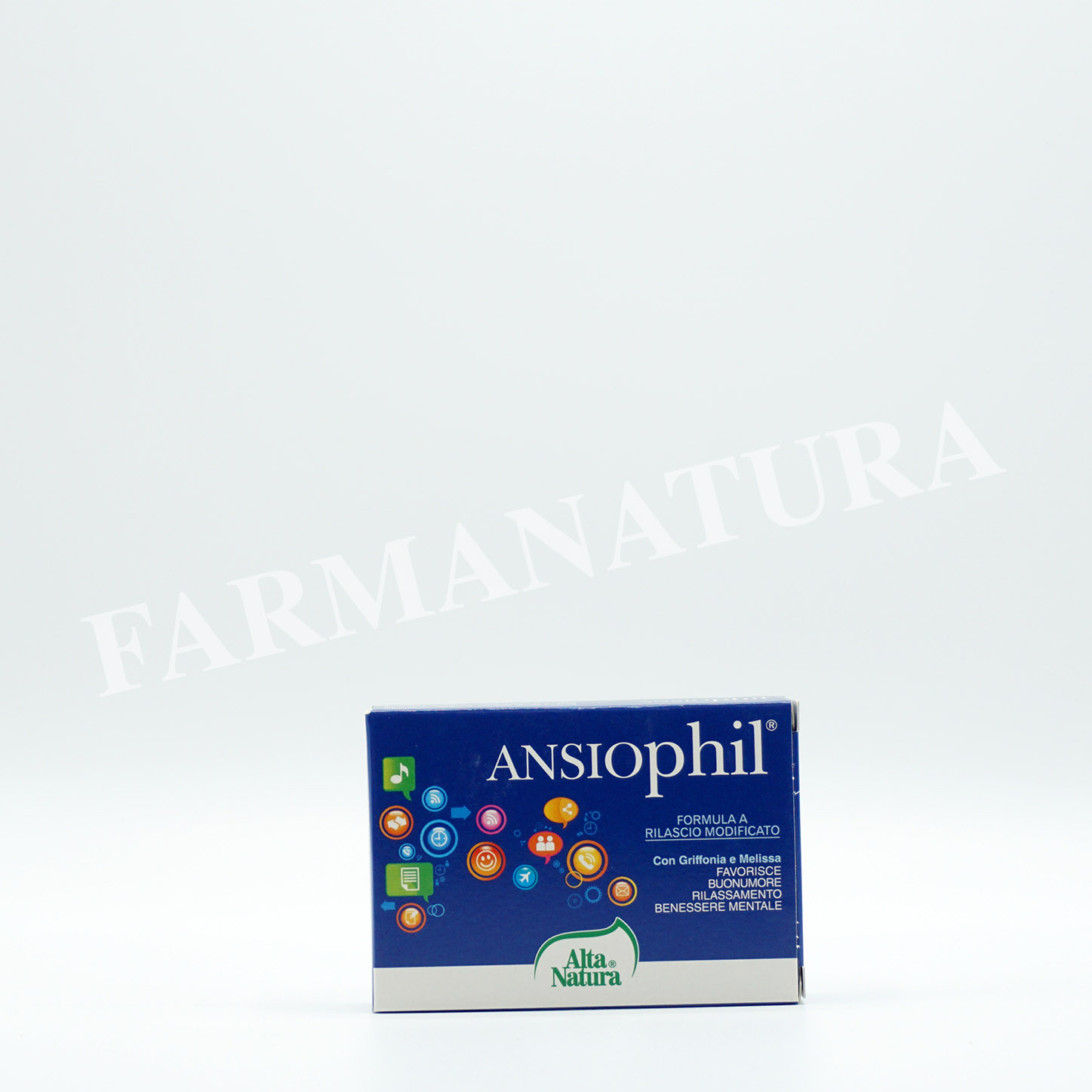 Ansiophil 15 Cprs 850 Mg  Alta Natura