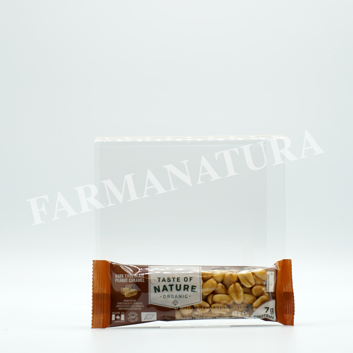 Bar Arach/Caramello/Ciocco 40 Gr Taste Of Nature