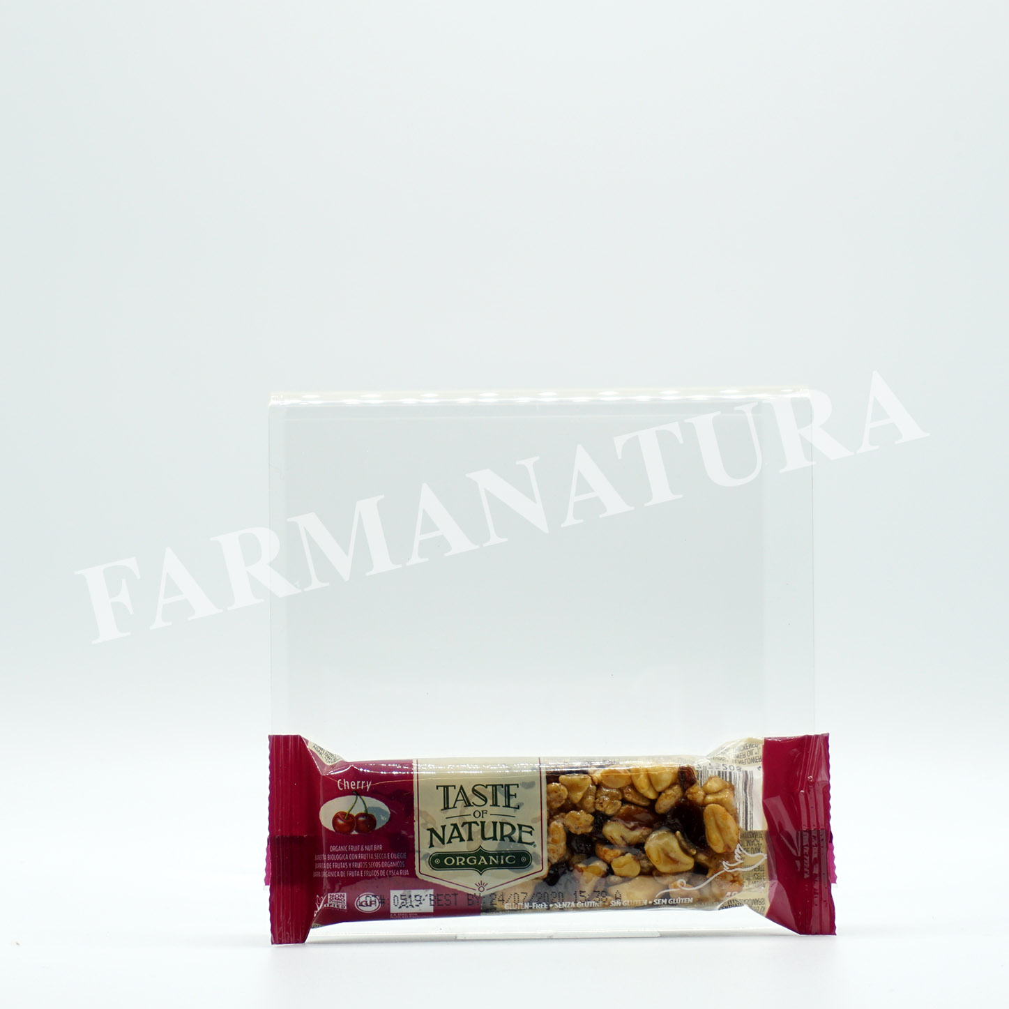 Bar Cherry Noci Pecan 40 Gr Taste Of Nature