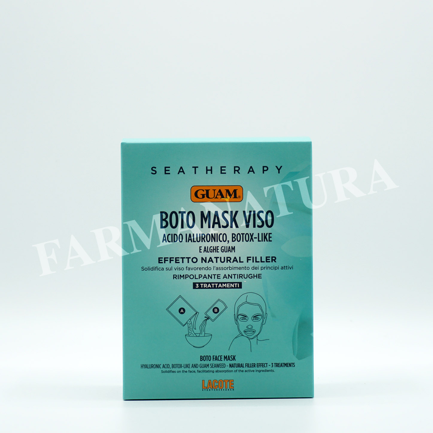 Guam Sea Therapy Boto Mask Viso