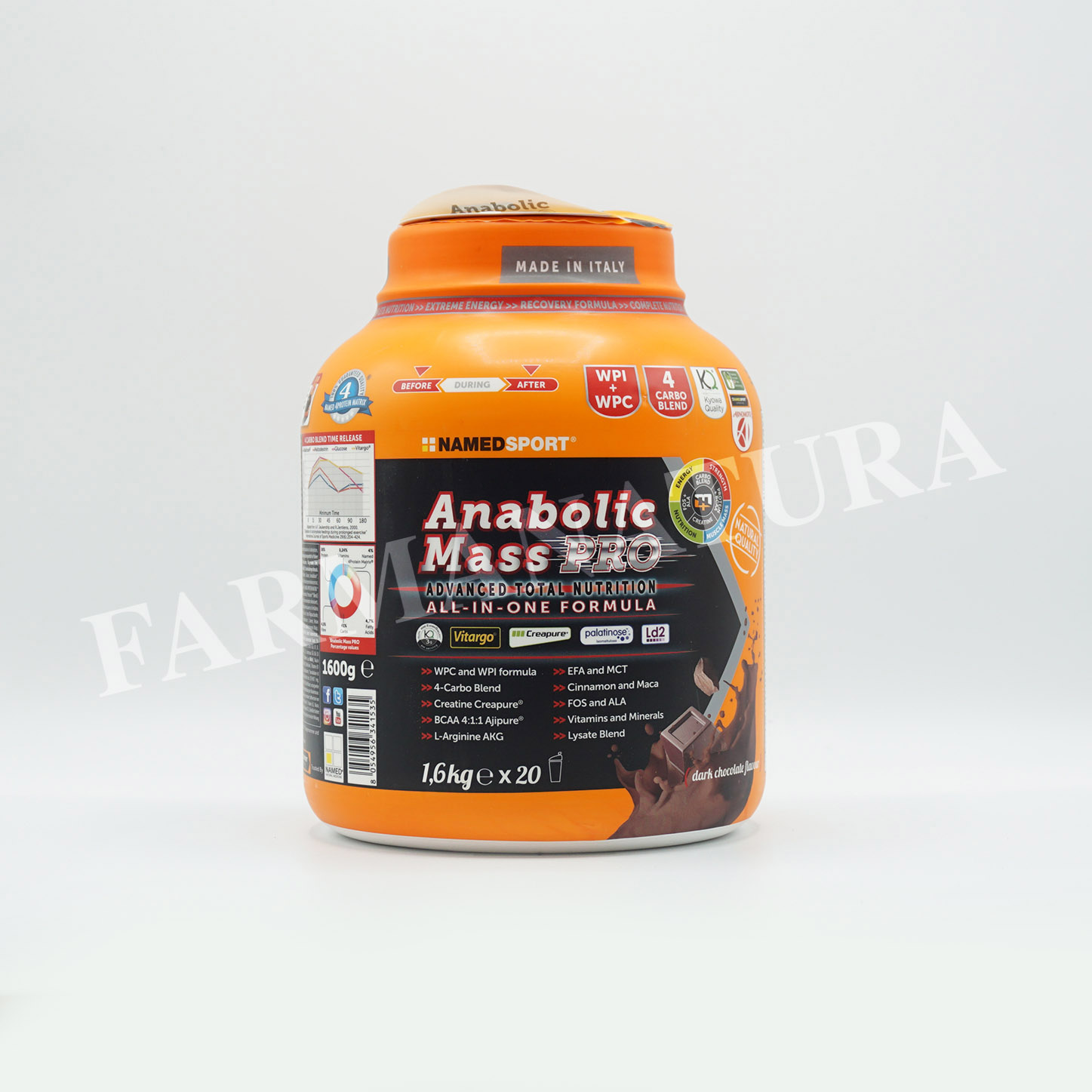 Anabolic Mass Pro 1600Gr Dark Chocolate