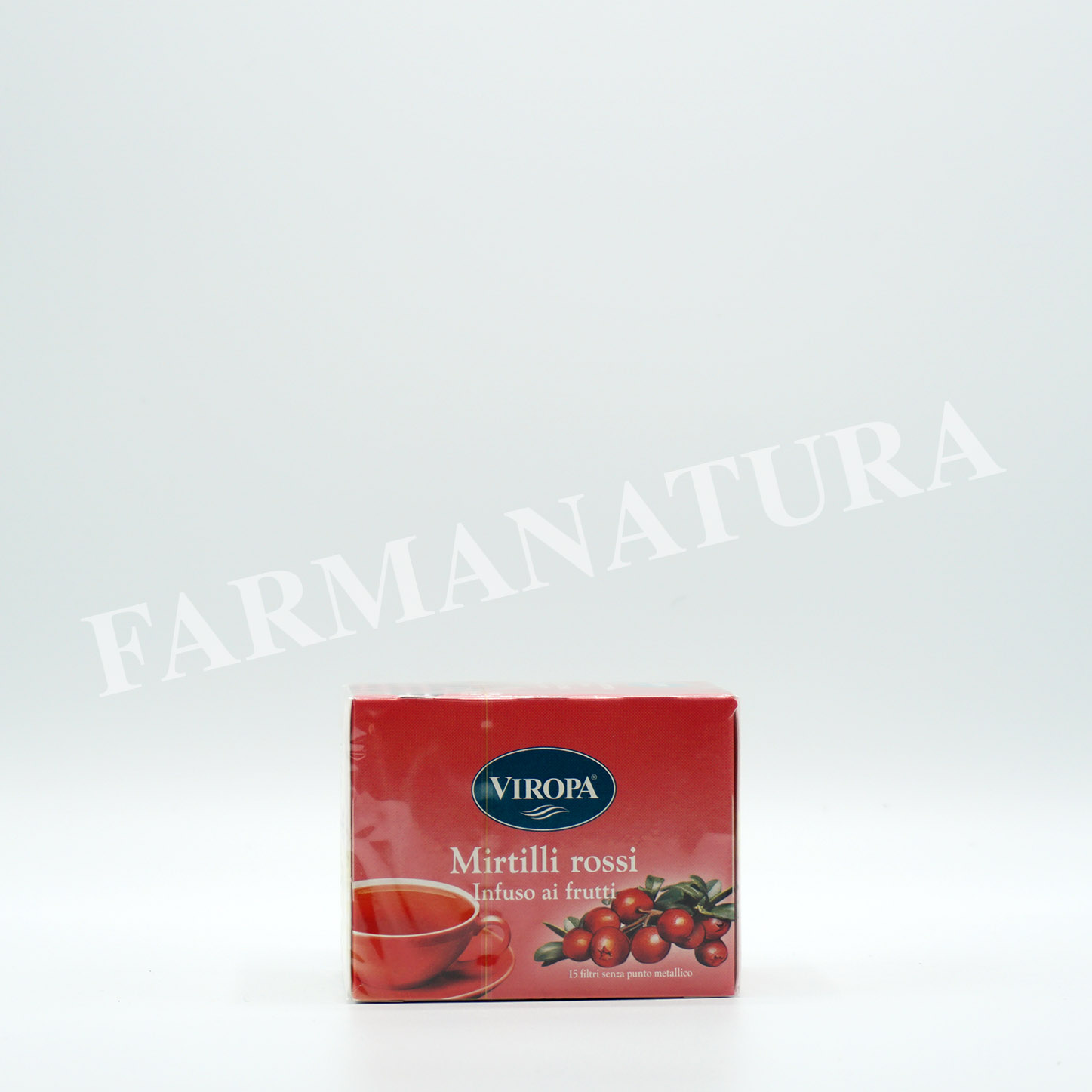 Infuso Mirtilli Rossi 15 Tfx Viropa