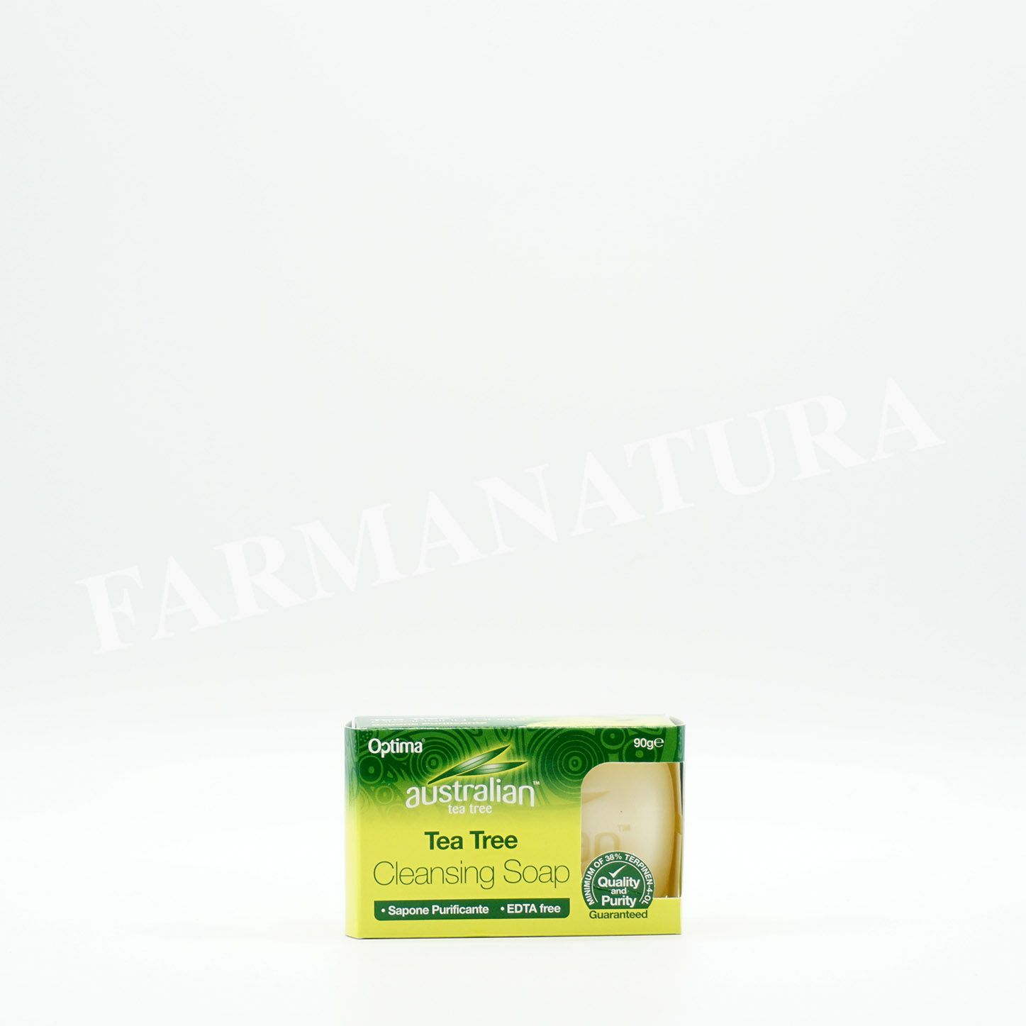 Organic Teatree  Cleansing Soap 90 Gr
