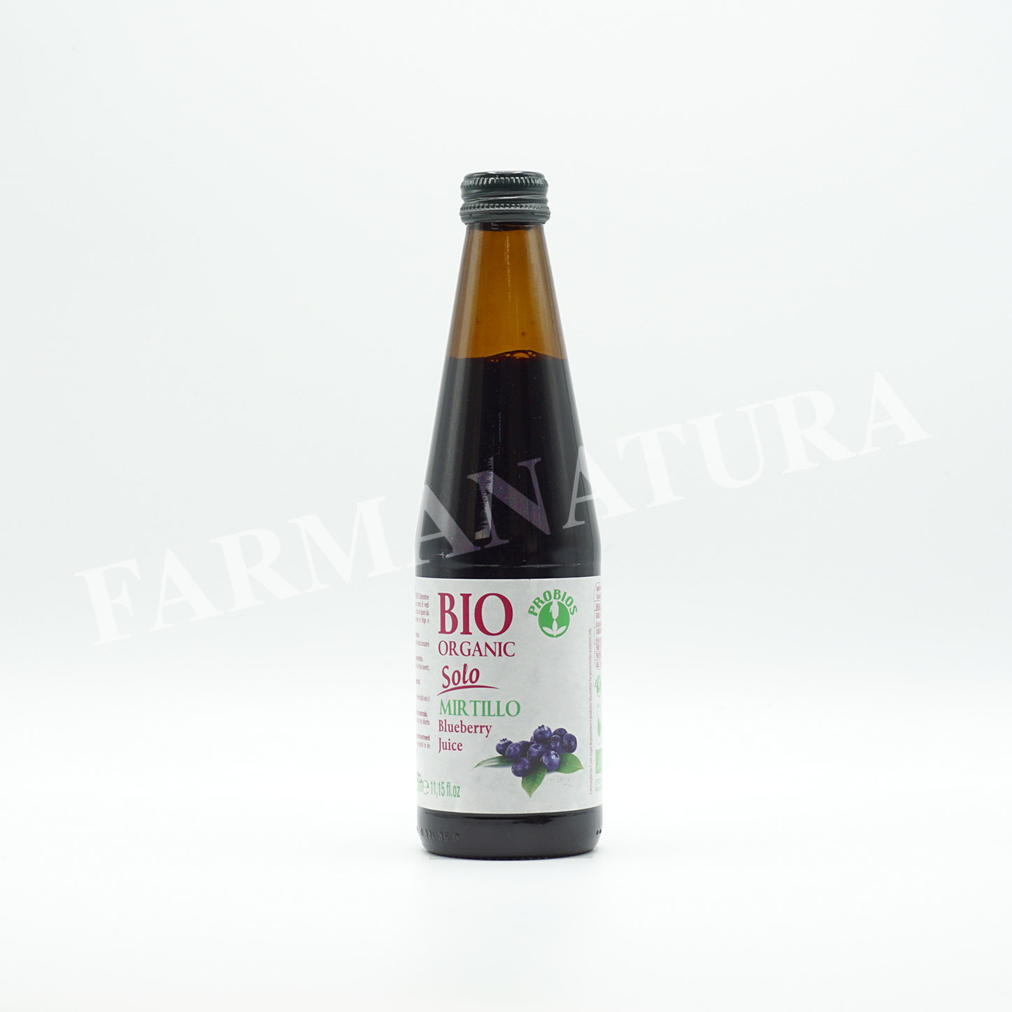 Succo Di Mirtillo Bio 100% 330 Ml Bio Organic
