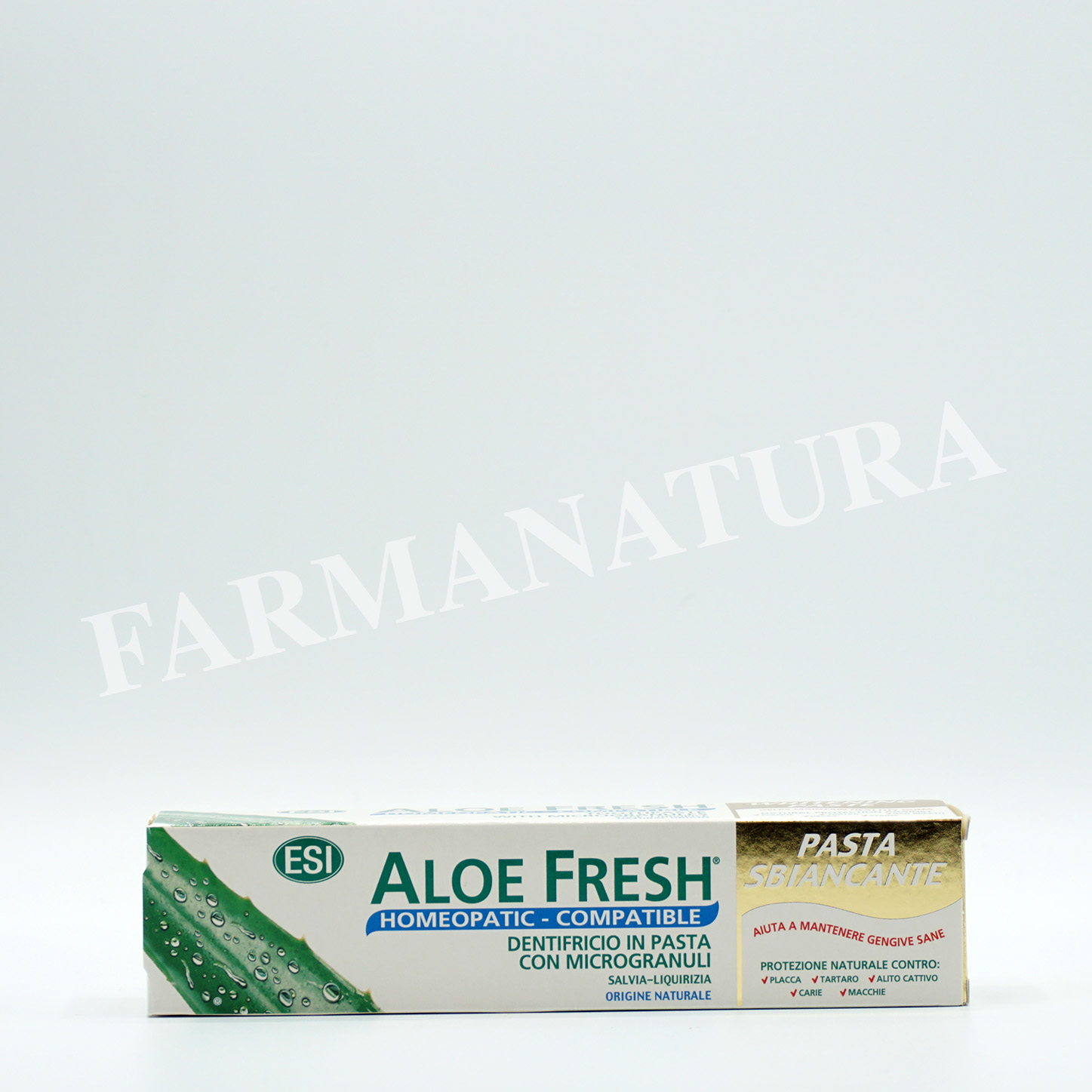 Dentif. Aloe Fresh Pasta Sbiancante 100 Ml Esi