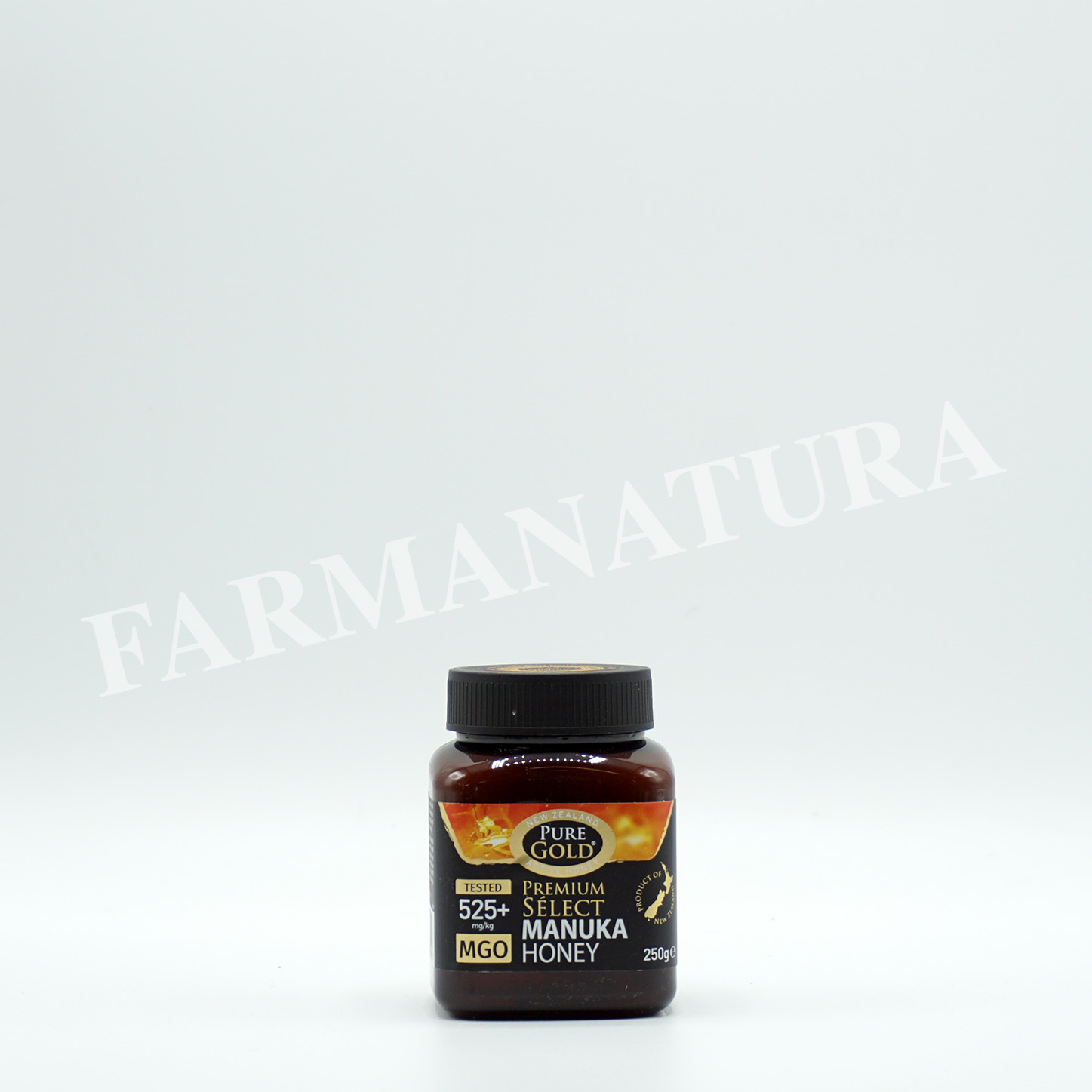 Manuka Honey 525+Mgo Pure Gold 250 Gr