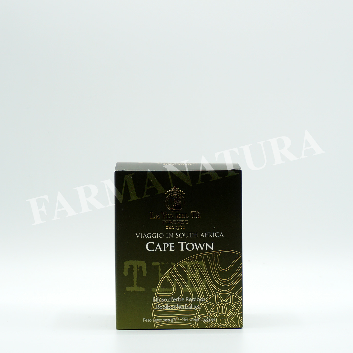 Lattina Cape Town 100 Gr Tea Travel