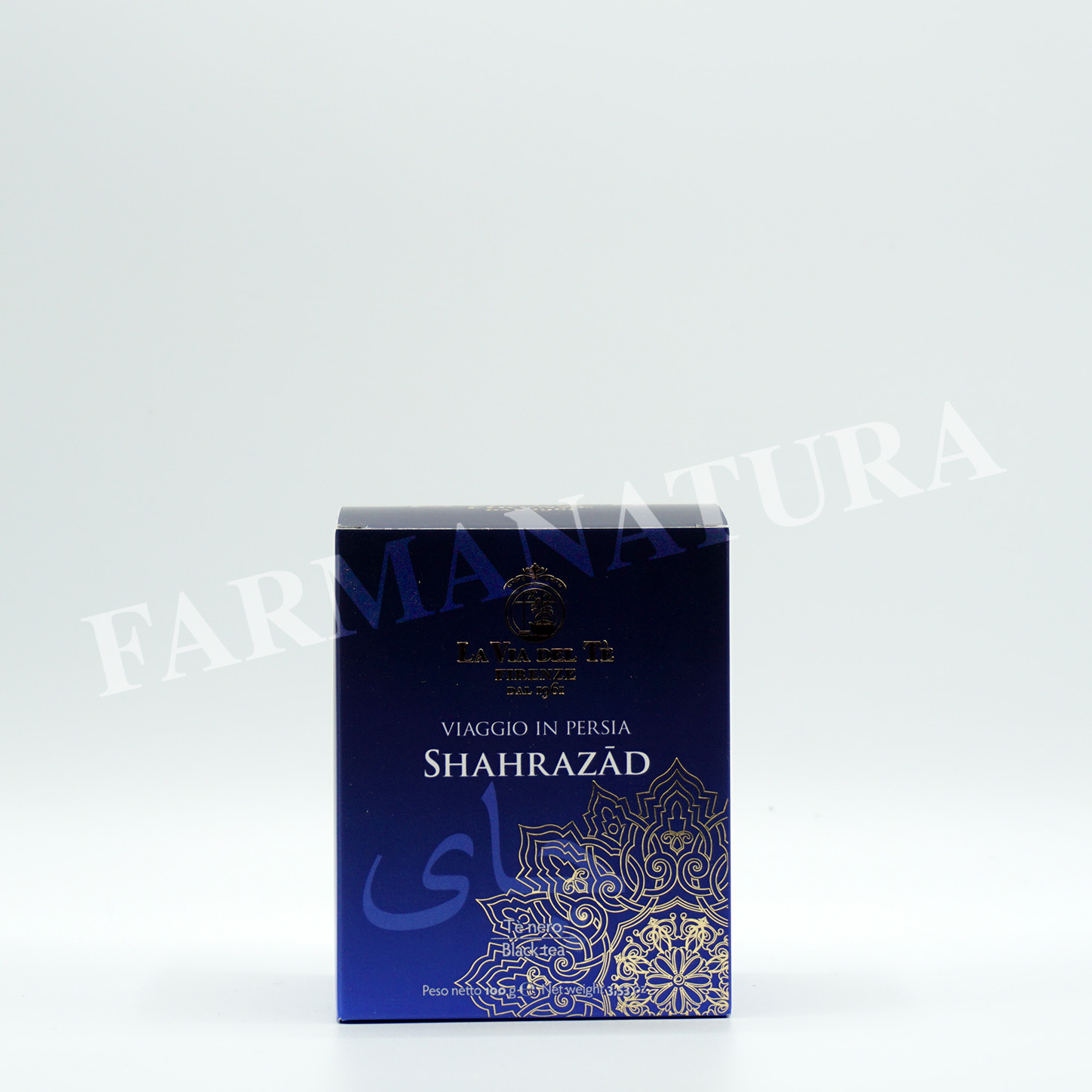 Lattina Shahrazhad Te' Nero 100Gr Tea Tra