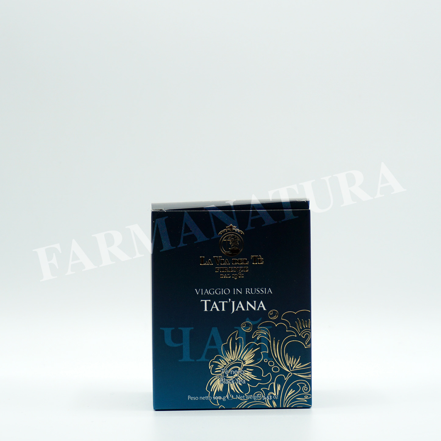 Lattina Tat'Jana Te' Nero Agrumato 100Gr Tea Trave